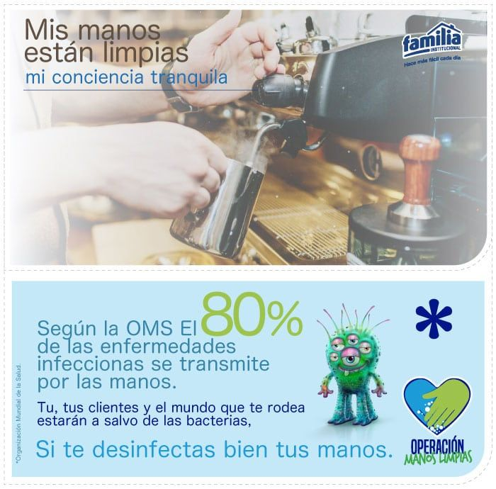 Cómo se realiza la higiene de las manos - Familia Institucional
