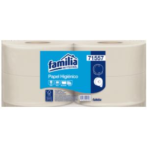 Papel higiénico jumbo Famimax natural - Familia Institucional