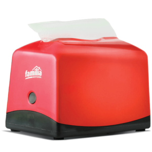 Dispensador de servilletas plus 100 rojo- Familia Institucional
