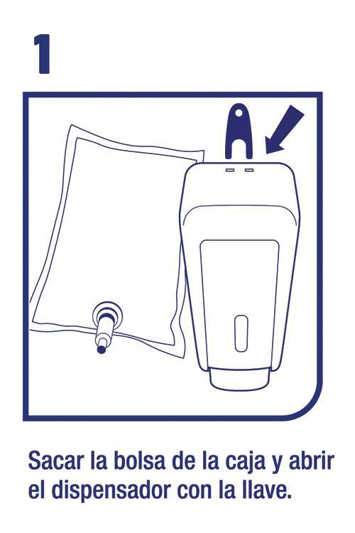 Uso dispensador servilletas - Familia Institucional