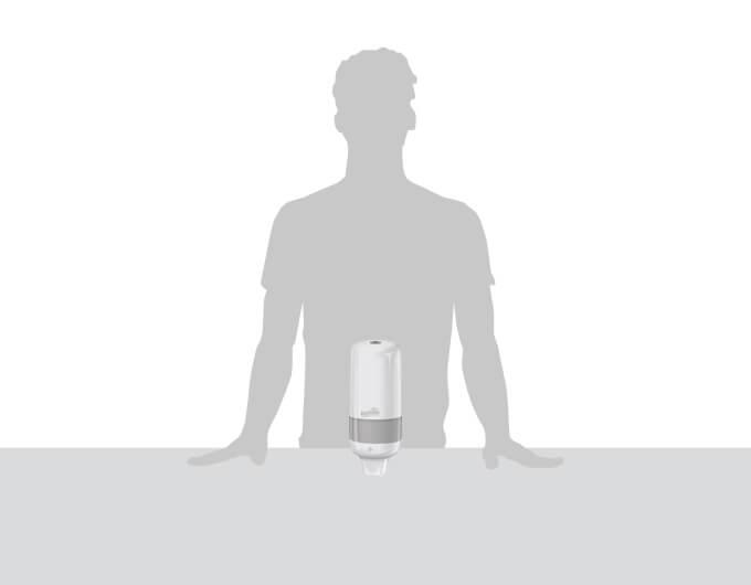 Dispensador de jabón líquido y gel - Familia Institucional